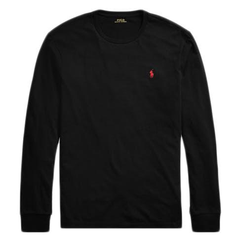 T-Shirt Ralph Lauren noir manches longues
