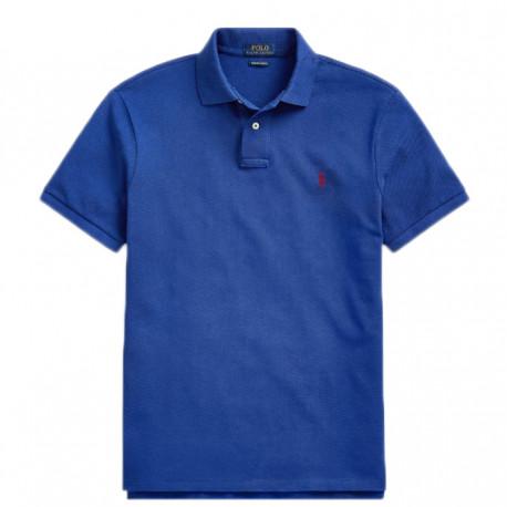 Polo Ralph Lauren bleu logo rouge pour homme