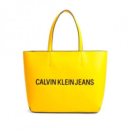 Grand Sac Calvin Klein Tote Jaune pour femme