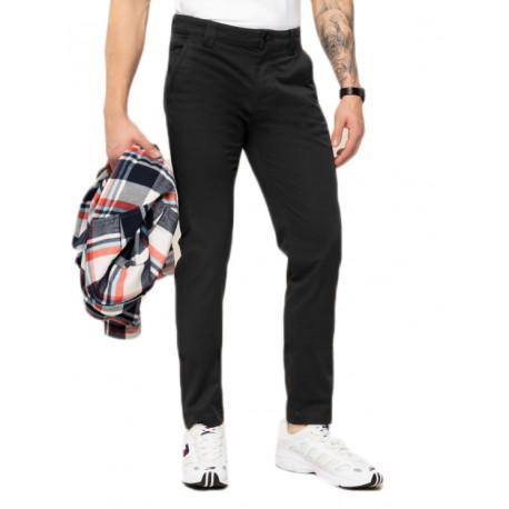 Pantalon chino Tommy Jeans Scanton noir pour homme