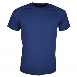 T-shirt col rond La Martina Maserati bleu marine pour homme