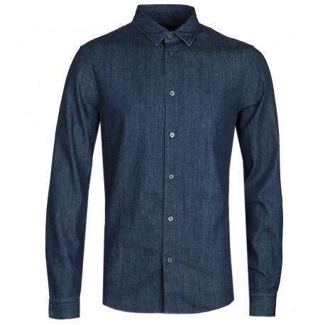 Chemise Armani bleu jeans pour homme