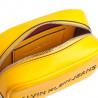 Sac à main bandoulière Calvin Klein jaune pour femme