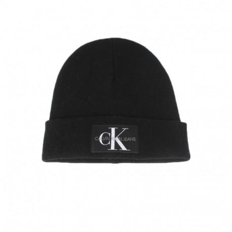 Bonnet Calvin Klein noir pour homme