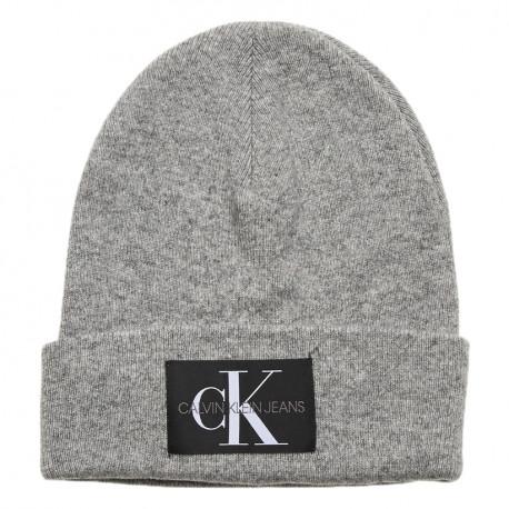 Bonnet Calvin Klein gris pour homme