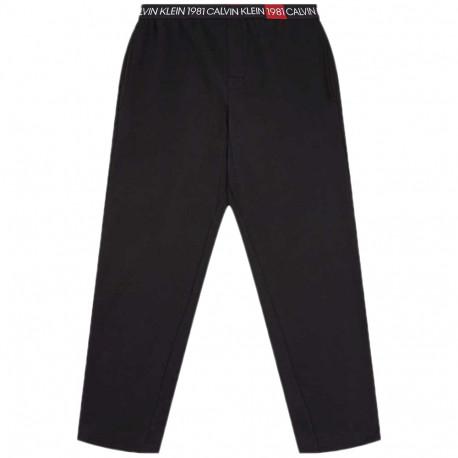 Pantalon de pyjama Calvin Klein noir pour homme
