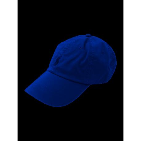 Casquette Ralph Lauren bleu indigo pour homme
