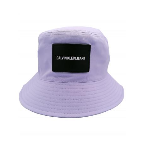 Chapeau bob Calvin Klein violet lila pour femme