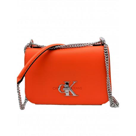 Sac bandoulière Calvin Klein orange pour femme