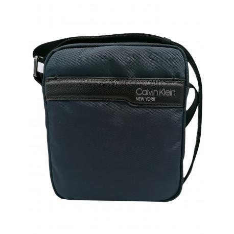 Sacoche bandoulière Calvin Klein bleu marine pour homme