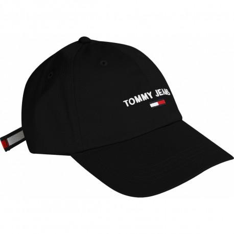 Casquette Tommy Hilfiger noire pour homme