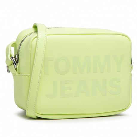 Petit sac bandoulière Tommy Jeans jaune fluo pour femme