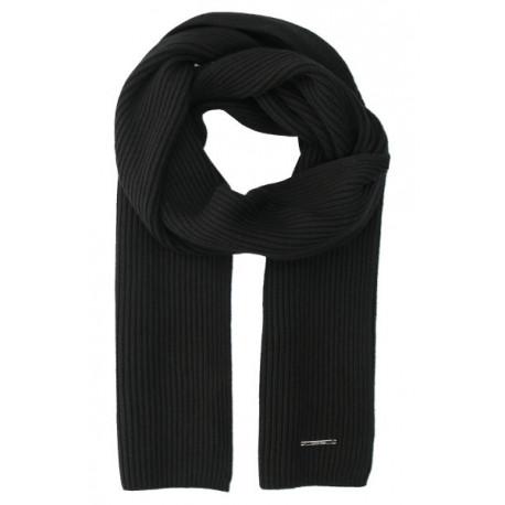 Écharpe Calvin Klein noire pour homme