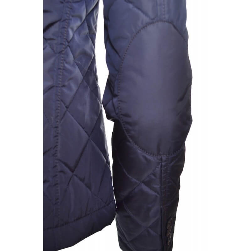 veste gant bleu marine matelass e pour femme toujours au meilleur. Black Bedroom Furniture Sets. Home Design Ideas