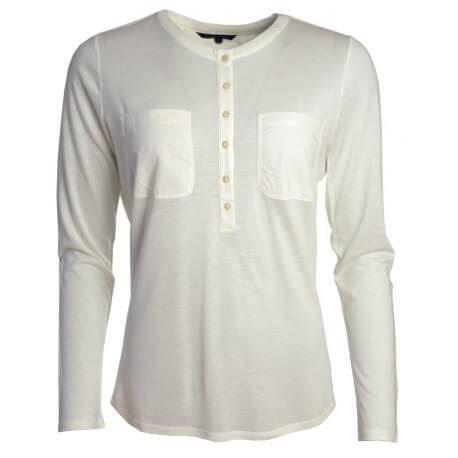 T-shirt Duane Henley - Blanc