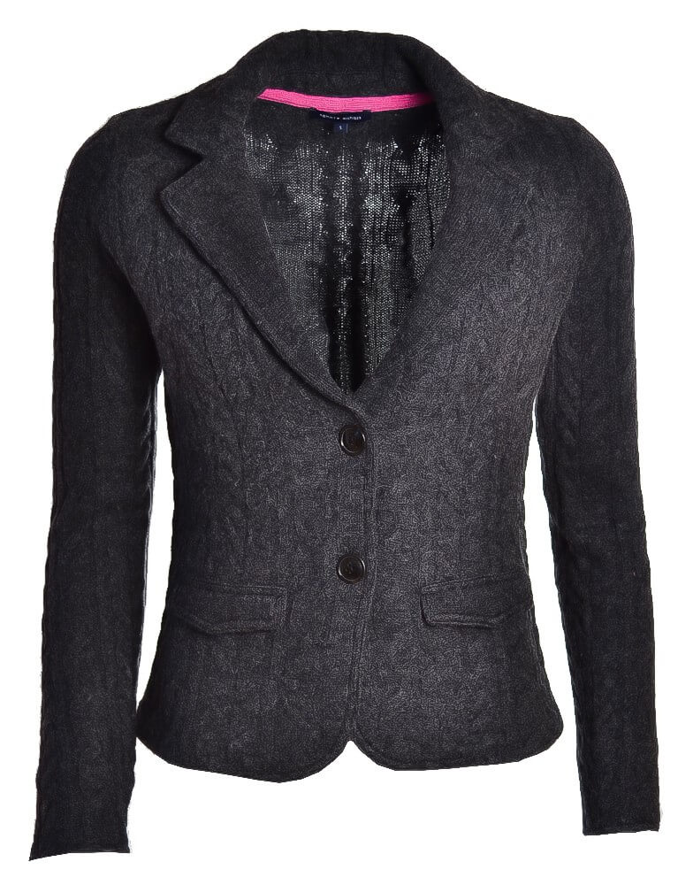 veste cardigan tommy hilfiger grise tabina pour femme toujours au. Black Bedroom Furniture Sets. Home Design Ideas