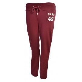 Pantalon de survêt Gant rouge bordeaux pour femme