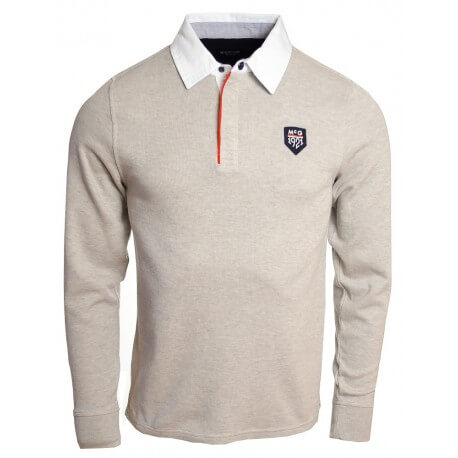 Polo homme McGregor rugby David Falloch - Gris