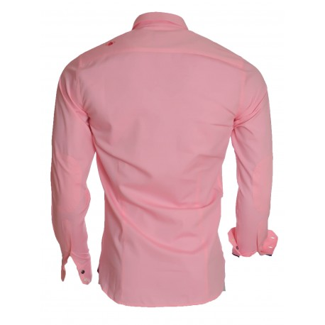 Chemise Jaqk rose wheel jimmy pour homme