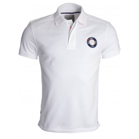 Polo Jaqk blanc tell pour homme