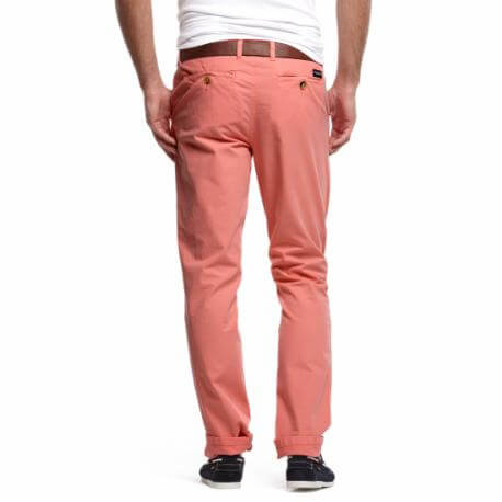 Chino McGregor rose Ryan Dunn pour homme