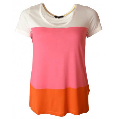 T-shirt Shira Scoop - Multicolore