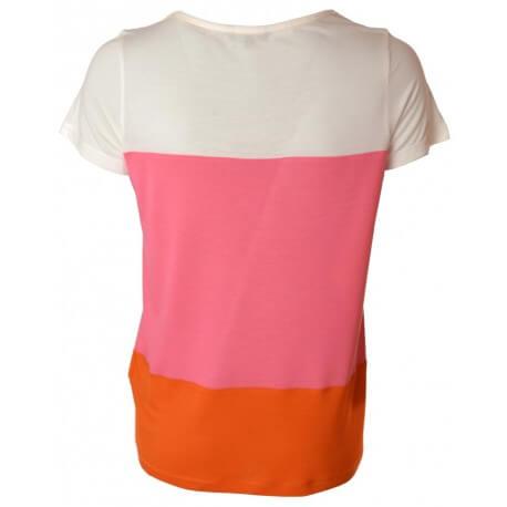 T-shirt Tommy Hilfiger Tricolore Shira Scoop pour femme