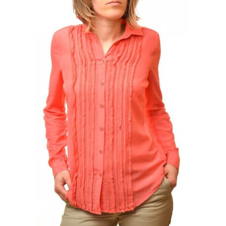 Chemise pontchateau - Rouge clair