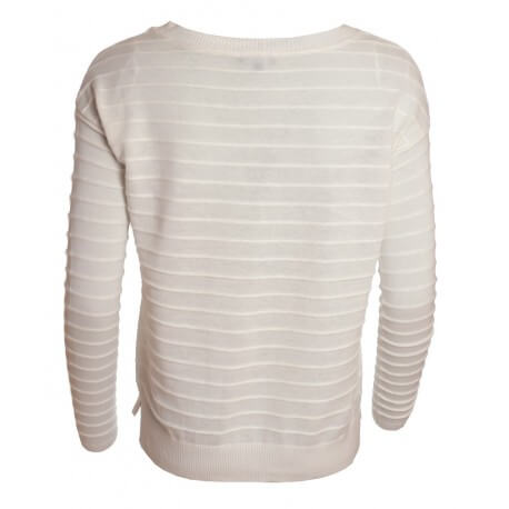 Pull Tommy Hilfiger blancTully pour femme