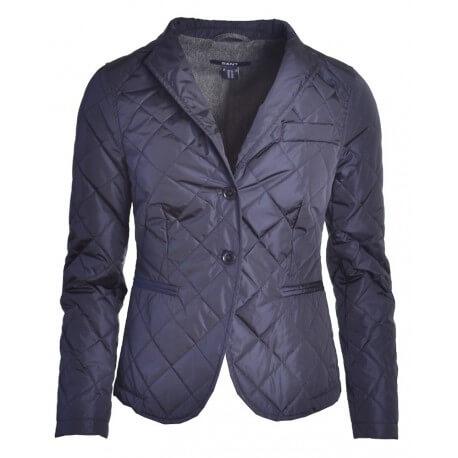 Veste Gant bleu marine Matelassée pour femme