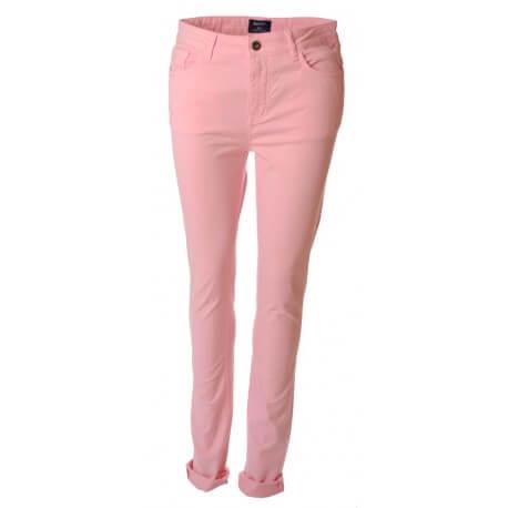 Pantalon Gant rose Kate pour femme