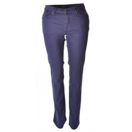 Pantalon Gant bleu marine Satiné pour femme