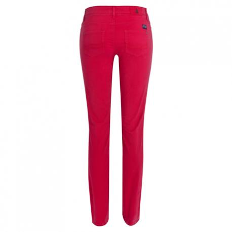 Pantalon Jadan Satin - Rouge/Rose