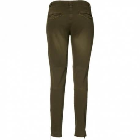 Pantalon Gant kaki carotte pour femme