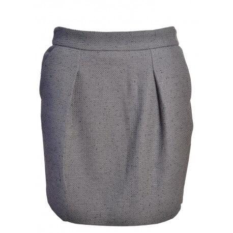 Jupe Gant grise Heavy pour femme