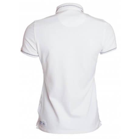 Polo Gaastra blanc ease pour femme