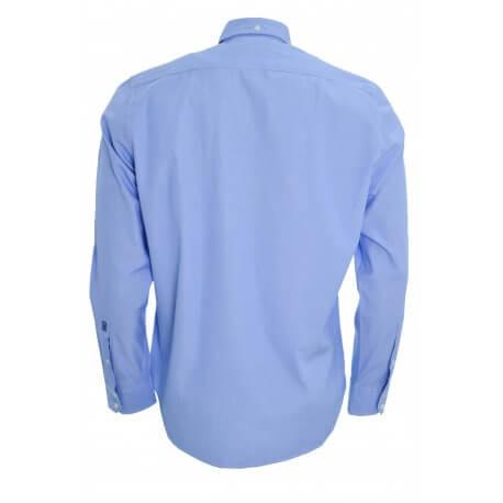 Chemise McGregor à rayures Bleu dennis fancy pour homme