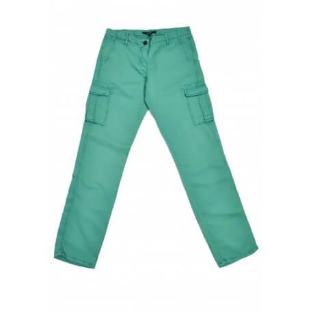Pantalon cargo Gant vert pour femme