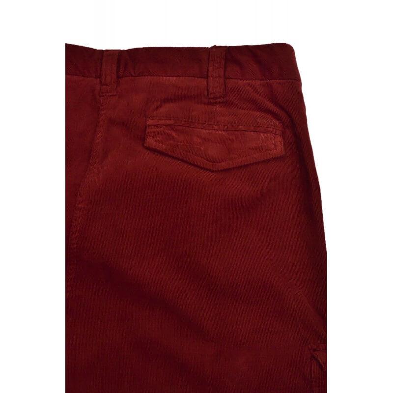 pantalon cargo velour gant rouge bordeaux pour femme toujours au. Black Bedroom Furniture Sets. Home Design Ideas
