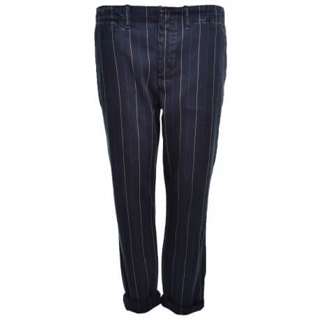 Pantalon Ralph Lauren bleu marine Eric pour femme