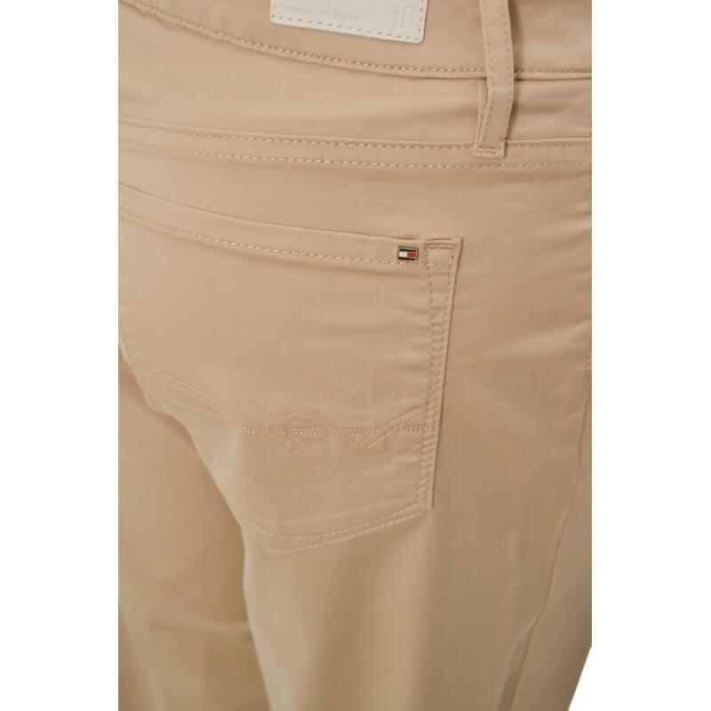 pantalon 7 8 tommy hilfiger lenny beige pour femme toujours au me. Black Bedroom Furniture Sets. Home Design Ideas