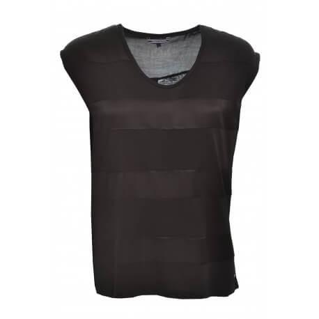 T-shirt Tommy Hilfiger Blayne noir pour femme