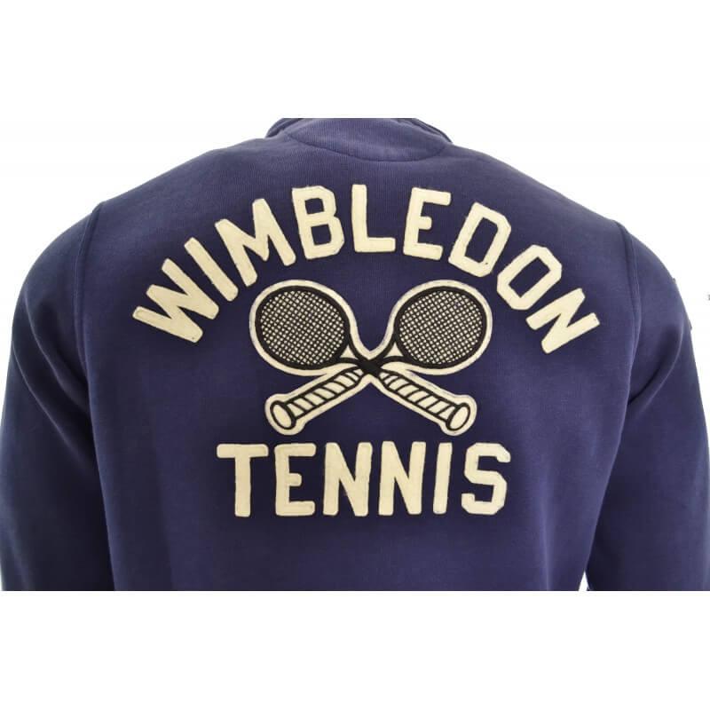 Veste Ralph Lauren Wimbledon bleu marine pour homme