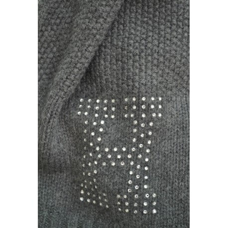 Echarpe Tommy Hilfiger Sparkle H grise pour femme