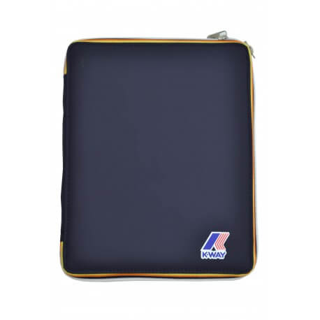 Pochette Ipad K-Way Jacques bleu marine