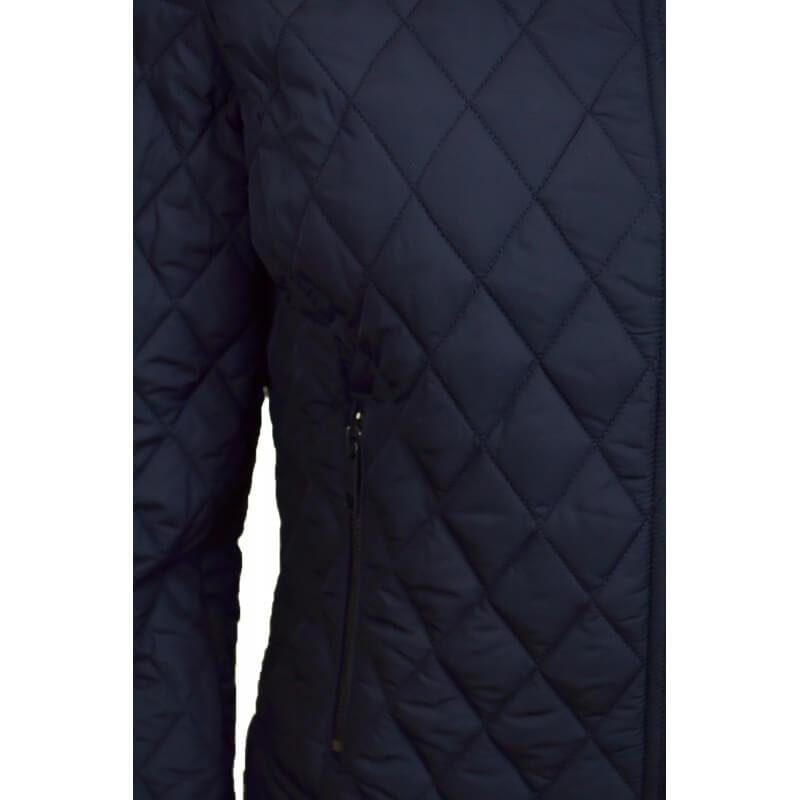 veste matelass e tommy hilfiger tess bleu marine pour femme touj. Black Bedroom Furniture Sets. Home Design Ideas