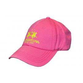 Casquette La Martina Godoy rouge rose pour homme