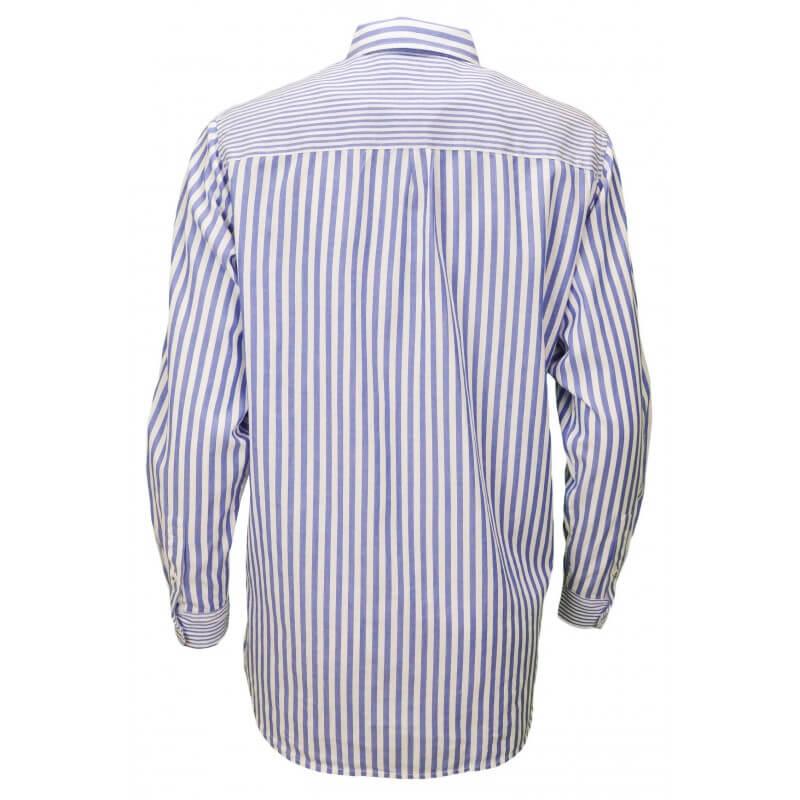 chemise tommy hilfiger marar ray e bleu blanc pour femme toujours