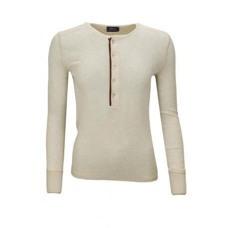 T-shirt manches longues Ralph Lauren Naea beige pour femme