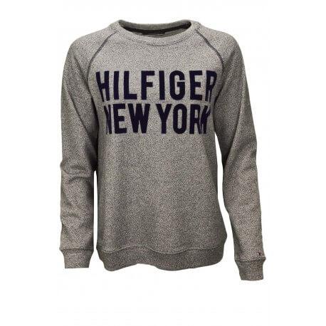 Sweat Tommy Hilfiger Irène gris pour femme aut/hiver